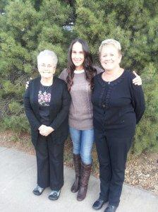 Me, Mom, Grandma